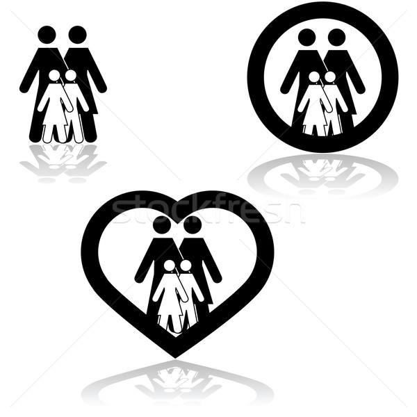 Family love Stock photo © bruno1998