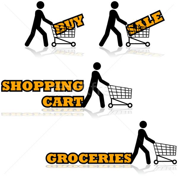 Shopping cart Stock photo © bruno1998