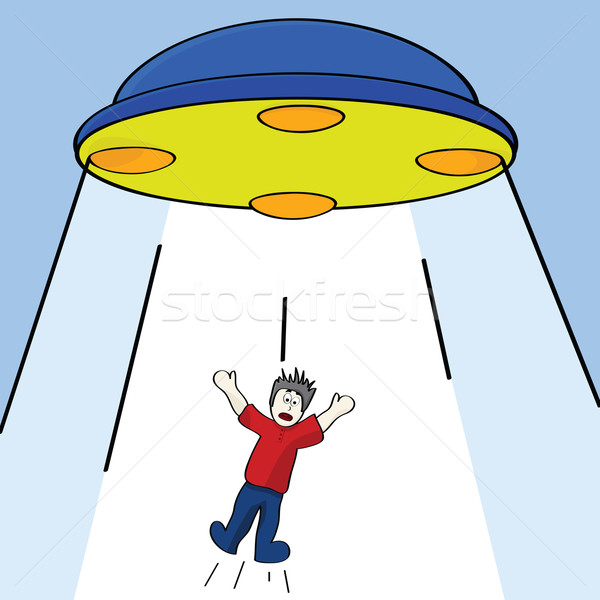 Alien abduction Stock photo © bruno1998