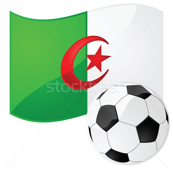 Algérie football illustration pavillon football Photo stock © bruno1998