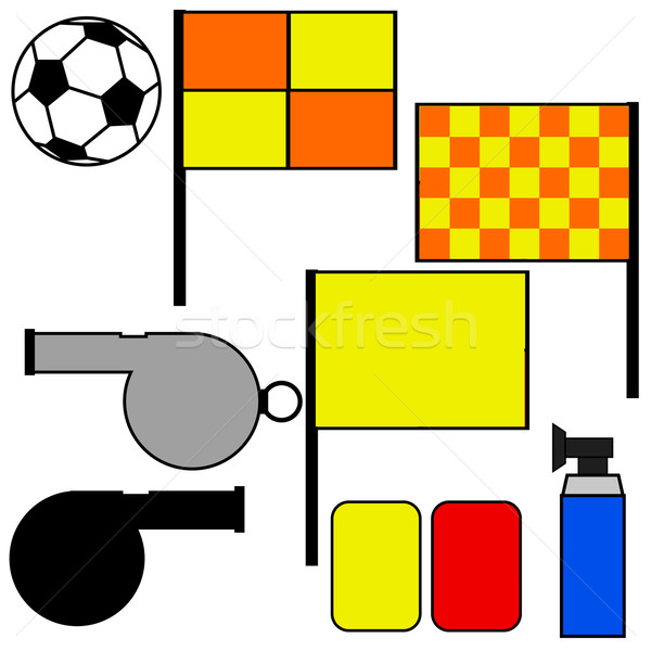 Soccer referee tools Stock photo © bruno1998