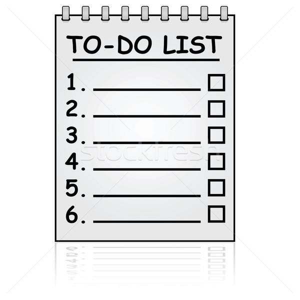 To do list Stock photo © bruno1998
