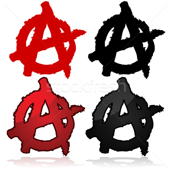 Anarchy symbol Stock photo © bruno1998