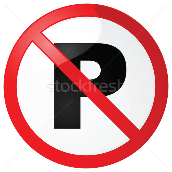 No parking sign Stock photo © bruno1998