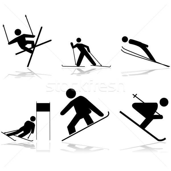 Snow sports Stock photo © bruno1998