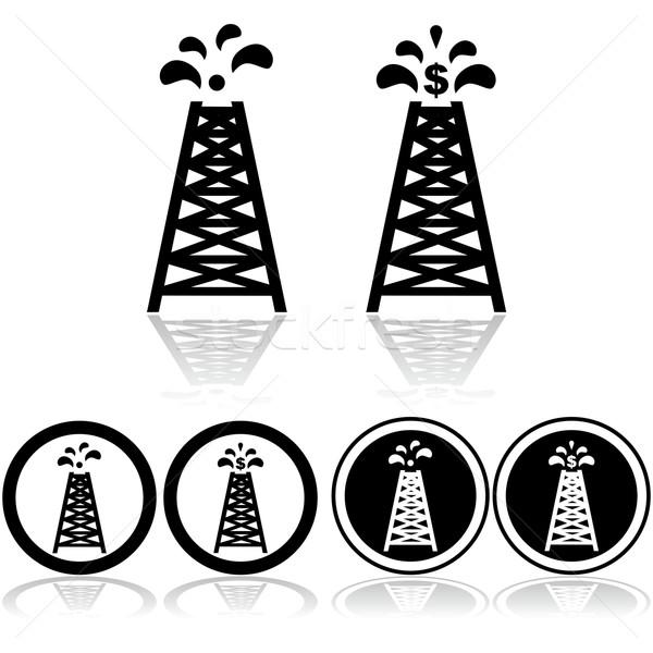 Oil tower Stock photo © bruno1998