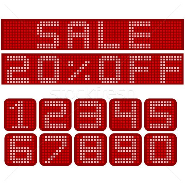 販売 にログイン 電子 赤 メッセージ 異なる ストックフォト © bruno1998