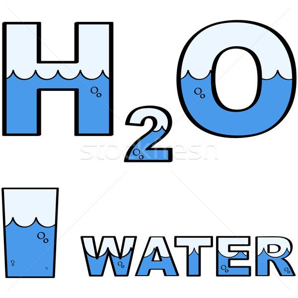 Water H2O Stock photo © bruno1998