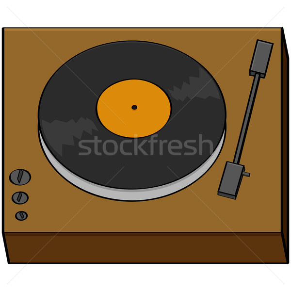 Old turntable Stock photo © bruno1998