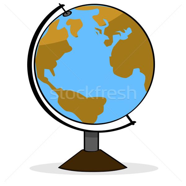 Cartoon globe Stock photo © bruno1998