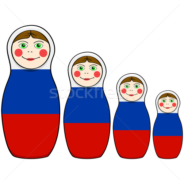 Russian dolls Stock photo © bruno1998