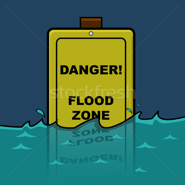 Flood zone Stock photo © bruno1998