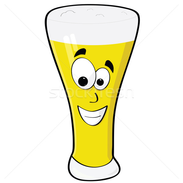 Happy beer Stock photo © bruno1998