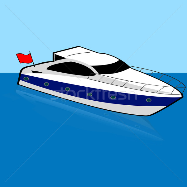 Speed boat Stock photo © bruno1998