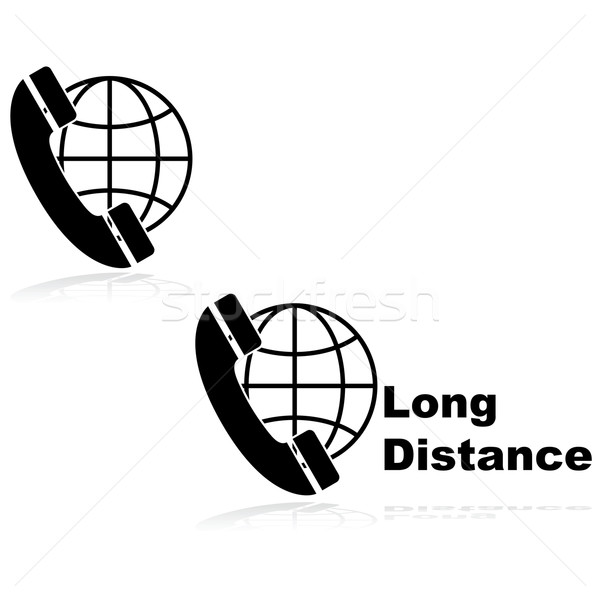 Long distance calling Stock photo © bruno1998