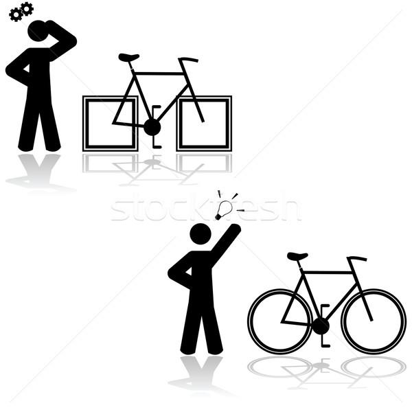 Bicycle problem Stock photo © bruno1998