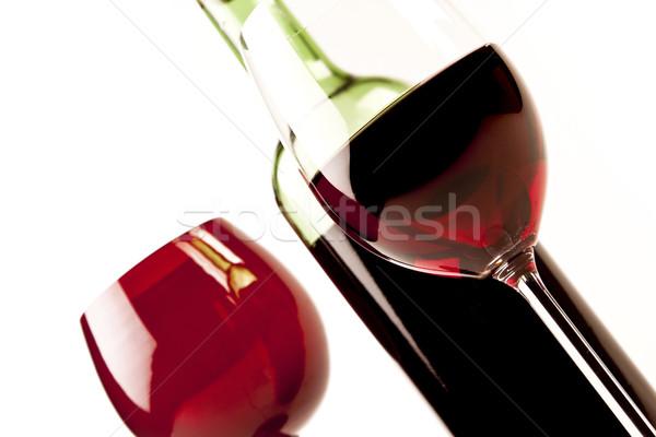 Wine on grass Stock photo © BrunoWeltmann