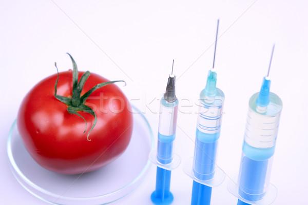 Genetikai kutatás gyümölcsök természet gyümölcs gyógyszer Stock fotó © BrunoWeltmann