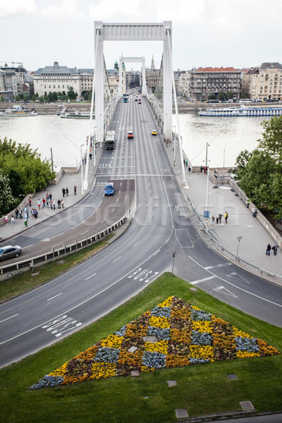 Stock photo: Budapest Chain Bridge
