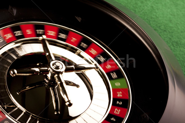 Stock photo: Roulette in casino