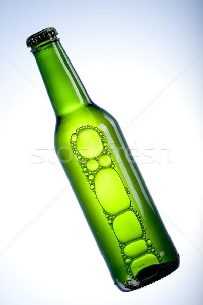 Foto stock: Frío · cerveza · hielo · vidrio · burbujas · alcohol