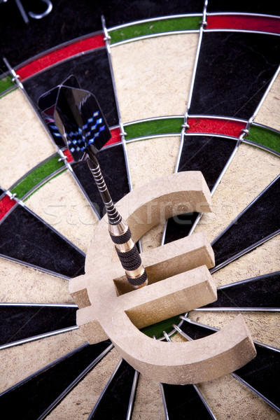 Dart Game / Bullseye concept Stock photo © BrunoWeltmann