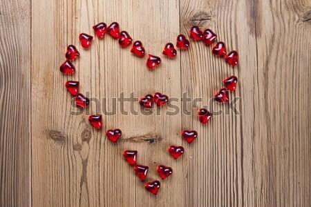 Día de san valentín día amantes regalos apasionado rojo Foto stock © BrunoWeltmann