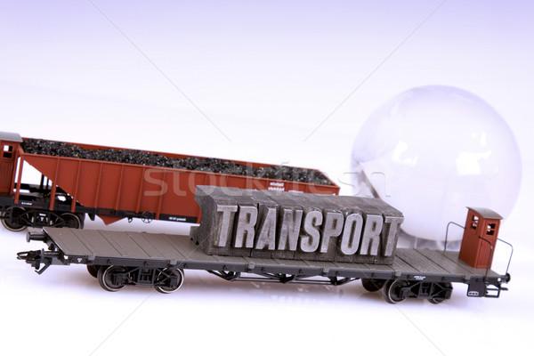 Train models, transport concept Stock photo © BrunoWeltmann