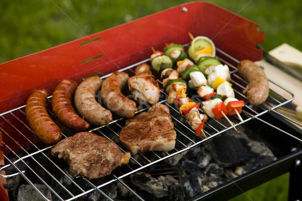 Stok fotoğraf: ızgara · zaman · barbekü · bahçe · gıda · parti