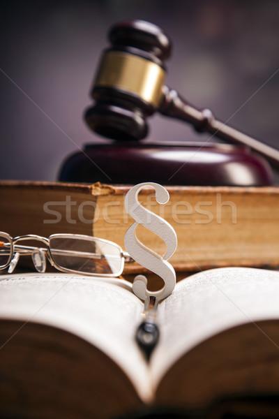 Law Theme Stock photo © BrunoWeltmann