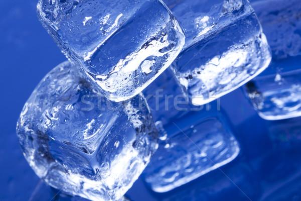 Ice Cubes Stock photo © BrunoWeltmann