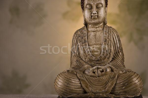 Ritratto buddha primo piano bellezza fumo Foto d'archivio © BrunoWeltmann