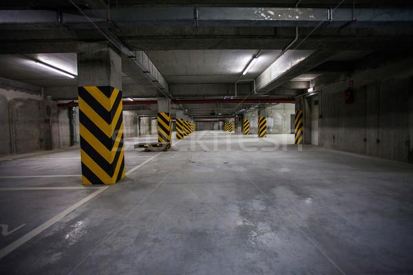 подземных гаража интерьер бизнеса здании строительство Сток-фото © BrunoWeltmann
