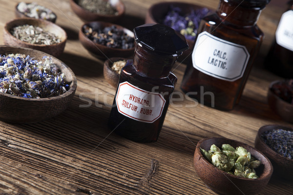 The ancient Chinese medicine Stock photo © BrunoWeltmann