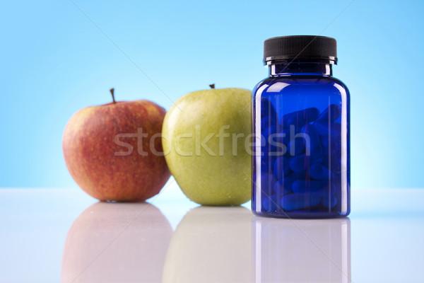 Supplements science Stock photo © BrunoWeltmann