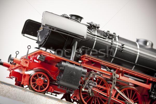 Trem modelos transporte mundo espaço grupo Foto stock © BrunoWeltmann