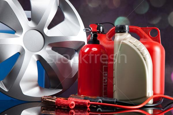 Essential elements in any car Stock photo © BrunoWeltmann