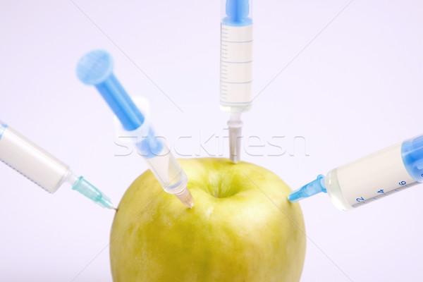 Genético pesquisa frutas comida natureza medicina Foto stock © BrunoWeltmann