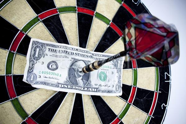 Dart Game / Bullseye concept Stock photo © BrunoWeltmann