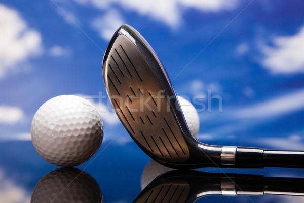 Sport uitrusting baseball bal zwarte leder Stockfoto © BrunoWeltmann