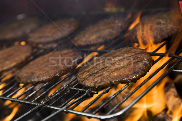 Photo stock: Grill · temps · barbecue · jardin · alimentaire · fête