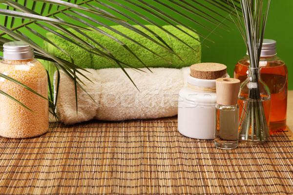 Spa and beauty, aroma and oils Stock photo © BrunoWeltmann