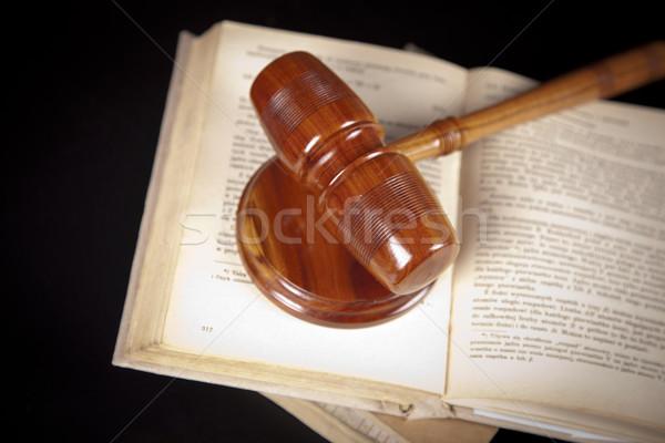 Old law concept Stock photo © BrunoWeltmann