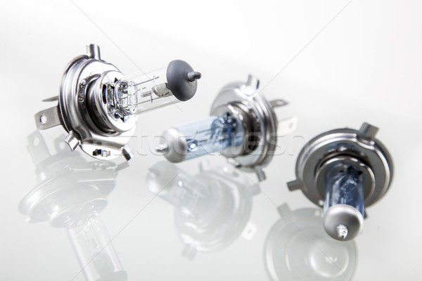 set of automotive bulbs. Stock photo © BrunoWeltmann