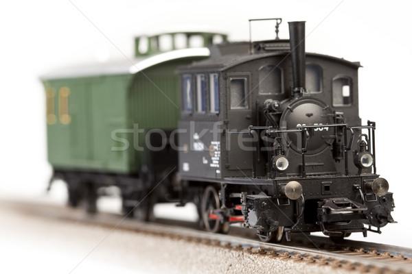 поезд моделях транспорт модель Мир пространстве Сток-фото © BrunoWeltmann