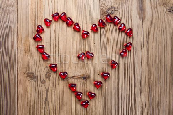 San valentino giorno amanti regali appassionato rosso Foto d'archivio © BrunoWeltmann