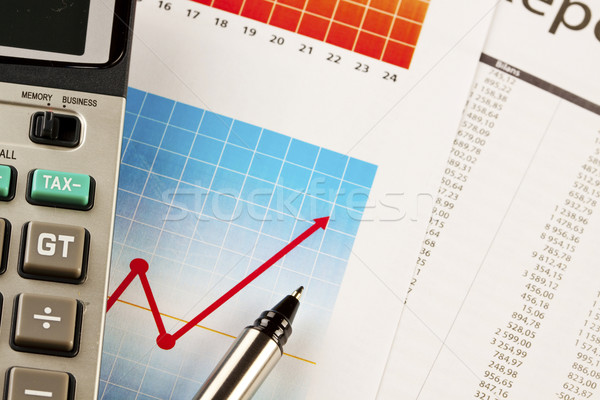 Financial and business concept Stock photo © BrunoWeltmann