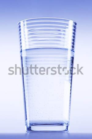 Stock photo: Pure, fresh water in cup