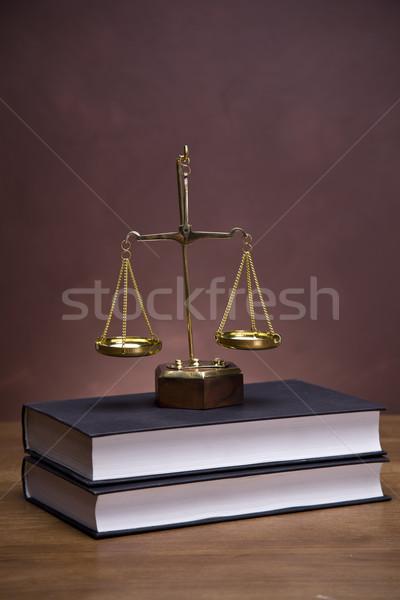 Law concept Stock photo © BrunoWeltmann