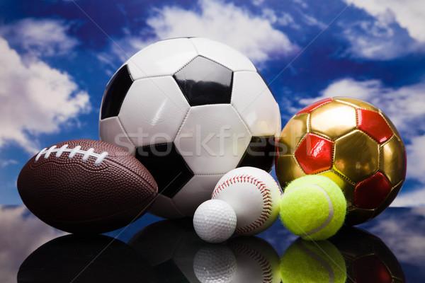 Deporte otro béisbol pelota Foto stock © BrunoWeltmann